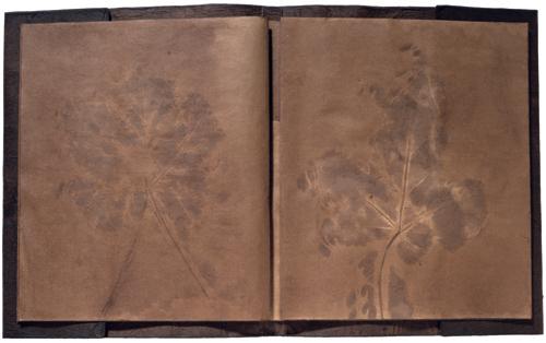 El libro del aire. Técnica mixta. 28x25x5.
