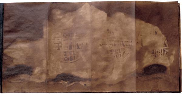 El libro de lo divino. Tecnica mixta. 31,5x31.5x3,5.
