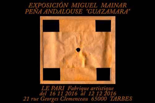Exposición Miguel Mainar. Tarbes 2016.
