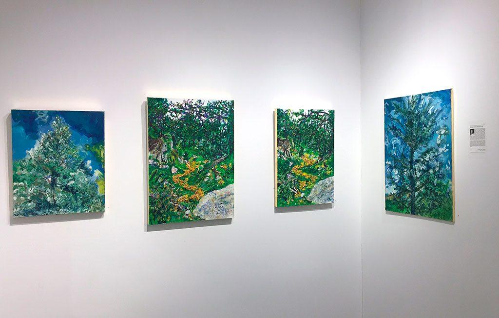 Elena Gastón. Exposición en Nueva York.