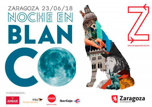 La noche en blanco Zaragoza 2018