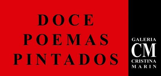 EXPOSICIÓN COLECTIVA. 12 POEMAS PINTADOS.