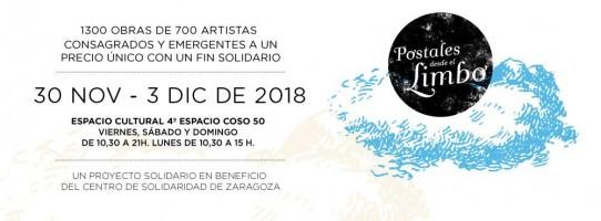 GLORIA GARCÍA PARTICIPA EN LA COLECTIVA POSTALES DESDE EL LIMBO 2018